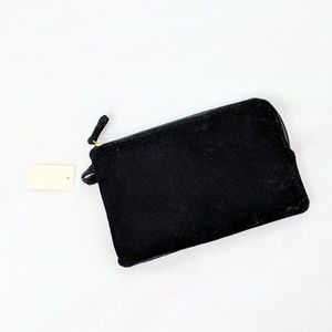 NEW Black Velvet Clutch - Talbots